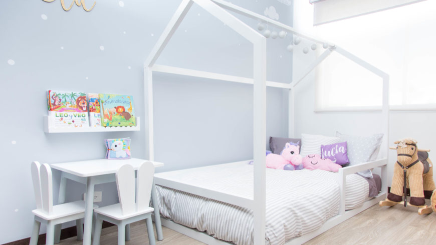 Dormitorio de Lucía