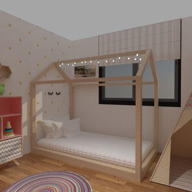 Dormitorio de Sofía