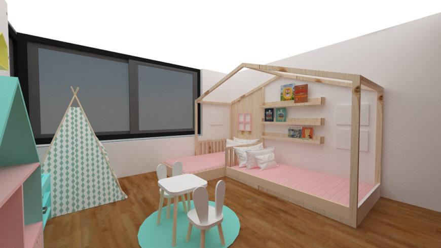 Dormitorio de Elena