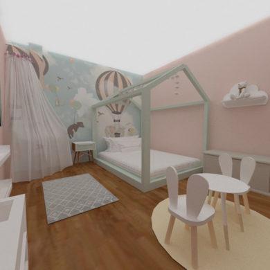 Dormitorio de Valeska